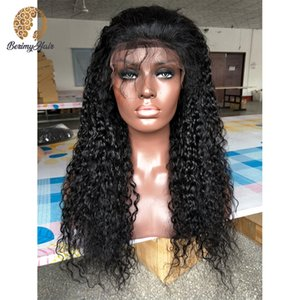 Peruvian Virgin Remy Lace Front Wigs Human Hair 130% Density Full Lace Human Hair Wigs With Baby Natural Color Pre Plucked For Blace Women