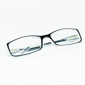de las mujeres de los hombres cuadrados mitad de aleación lentes de cristal de Reading Frame Gafas 2019 Femal unisex Gafas HX1019