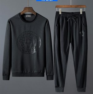 Fall 2020 new high quality fashion men's sports long sleeve suit leisure sports men's suit