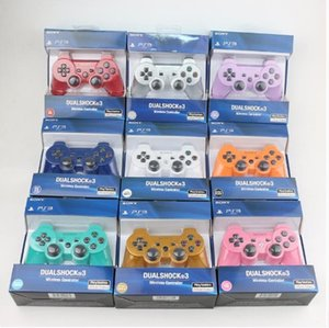New Hot For Sony Playstation 3 2.4GHz Bluetooth Joystick Gamepad para ps3 controlador controles do jogo Gamepad 11 Cores