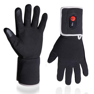 Winter Elektroheizung Handschuhe für Reiten Fahrradfahren Angeln Outdoor Sports Verwenden 3-6 Stunden 2200mAh Batterie Beheizte Handschuhe Touch Screen