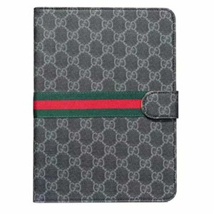 For Apple iPad Air mini Pro case Lattice Cover With Card Slots Business Stand Flip PU Leather Protective Skin Case Tablet case