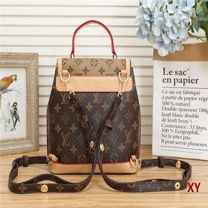 Fast shipping 2020 top Leather classic fashion handbag card bag zero wallet men's and women's backpacks single shoulder bag 02