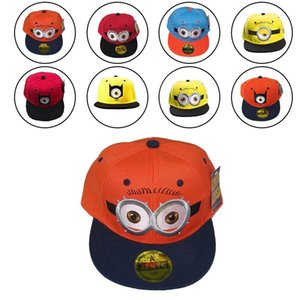 Netter Karikatur-Minions Baseball-Mütze Hüft- Cap einstellbar für Kinder Kid Tierbedarf Hausgarten