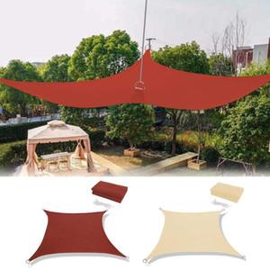 Sun Sonnensegel Wasserdichte Sonnenschutz UV-Sonnenschutz 190T Silber beschichtete Polyester Sun Shelter Segel für Gartenmöbel