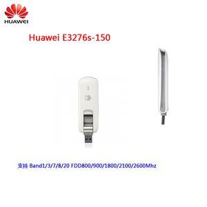 Original Desbloqueado Huawei E3276 E3276s-150 150Mbps 4G LTE USB Dongle cartão de dados de banda larga móvel PK E8278 E3372 Modem 3G WCDMA USB