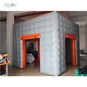 New Square Günstige LED-Beleuchtung Aufblasbare Werbung Ausstellung-Zelt Photo Booth-Zelt für Verkauf