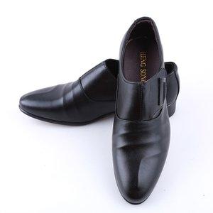 Hengsong Golf Ayakkabı Tek Toka Erkek Spor Durum Man Sneakers Kayma-On Golf Siyah Kahverengi Erkek Ayakkabı
