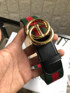 Erkekler LUFJ34 için FAJARINA Moda Timsah Desen Çizgi Gerçek Deri Harf Pirinç Slayt Toka Metal Kalite Mischpalette Kayışlar