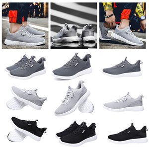 2020 newest men running shoes full mesh net triple white black grey trainers sports designer sneakers 39-45