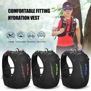 10L Outdoor Mesh Backpack Hydration Pack Zaino Borsa di cablaggio della maglia vescica dell'acqua escursione del campeggio esecuzione Marathon Race