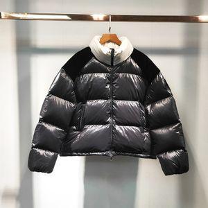 2019 겨울 여성 자켓 Downcoat 긴 소매 높은 품질의 럭셔리 모 다운 자켓 여성 겨울 의류 크리스마스 브랜드 다운 자켓