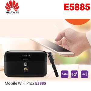 Sblocca HUAWEI E5885Ls-93a cat6 mobile WIFI PRO2 con 6400 mah Power Bank Battery e una porta Ethernet RJ45 LAN E5885 Router