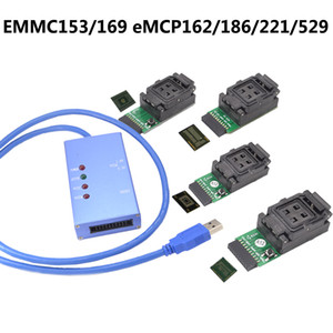 Freeshipping Universeller Prüfbuchse EMMC153 / 169 eMCP162 / 186/221/529 Unterstützung viele verschiedene eMMC EMCP Chips Androidtelefon Datenwiederherstellung