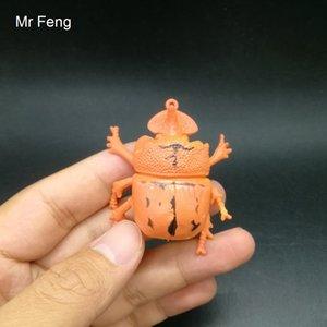 لعبة Fun-Orange متوسطة الحجم تُدخِل لعبة Joke Animal Shocker Beetle النموذجية للتعلم وهمية (رقم الموديل I805)