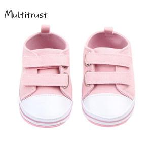Multitrust Yeni Bebek Bebek Boys Kız Branda Sneakers İlk Yürüyenler Casual Kaymaz Sole Yatağı Ayakkabı