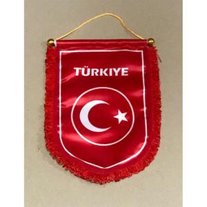 Bandeira da selecção nacional de futebol da turquia que entrega a bandeira 30 cm * 20 cm tamanho decoração bandeira banner para jardim de casa festiva