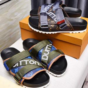 Мужские тапочки Высококачественные сандалии 38-45 Дизайнер Классические горячие стили Заводская прямая бесплатная доставка (с коробкой)