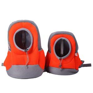 2019 Outdoor Pet Dog Carrier Bag Pet Dog Front Bag New Out Double Shoulder Portable Travel Backpack Mesh Backpack Head