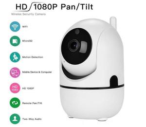 1080P Облачное хранение Беспроводной Wi-Fi IP-камера Интеллектуальная автоматическое отслеживание человеческого мини Wi-Fi Cam Home Security CCTV камеры видеонаблюдения