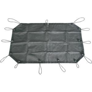 Cubierta superior de malla para sombrillas 2007-2018 2 puertas Jeep Wrangler JK JK Unlimited, protección contra rayos ultravioleta Spider Web Shade Bkini