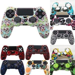 8Wnqy ABKT-Chrome Controller Housse étui Shell Case pour Sony PlayStation Peinture PS4 4