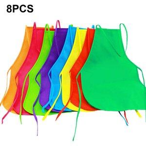 الألوان مآزر النسيج مآزر الأطفال مآزر الأطفال للمطبخ Mutil-colour أواني أدوات وظيفية مختلفة