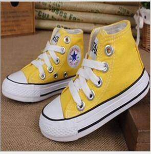 dorp shipping Boygirl детская обувь из плотной ткани Kids Cute Leisure Спортивная обувь с низким верхом Резиновая подошва 7 цветов размер 24-34