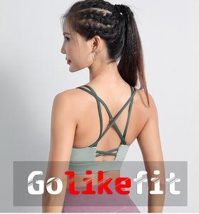 New sports underwear ladies jogging shockproof gather shape yoga beauty back vest fitness bra bra outdoor