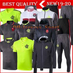2019 2020 CR Flamengo football спортивный костюм футбольная куртка 19 20 camisas de futebol Long pull zipper тренировочный костюм Chandal