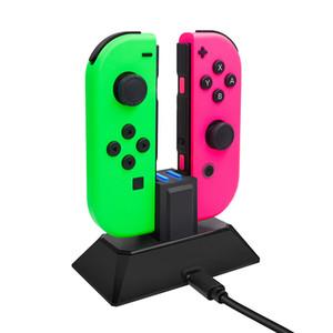 5V 1A Ladegerät Dock für Nintendo Switch 2 in 1 Ladegerät stehen Station für Nintend Schalter Joy-Con-Controller