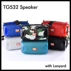 Беспроводной TG532 Bluetooth Speaker Мини Портативный Музыка Аудио плеер с талрепом ремень 500mAh Батарея Встроенный Малый сабвуфер