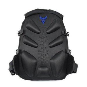 Ajustável Strap Com reflexiva Faixa Waterproof Motorcycle Helmet zíper duplo Outdoor Backpack Armazenamento curso de desporto Escalada