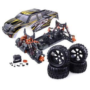 Toptan ZD Yarış 9116-V3 Canavar Kamyon 1/8 Tam Ölçekli Tiny Gerçek Araba Yarışı Alaşım 6061 DIY Çerçeve Takımı Sürüm