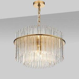 G4 ha condotto la lampada LED postmoderna Nordic Ferro vetro Lampada Luci del pendente del LED Pendant per Foyer Dinning Room MYY