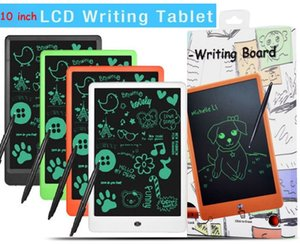 LCD 10 inch Writing Tablet Lcd writing board Blackboard Handwriting Pads Paperless Notepad Whiteboard Memo With Upgraded Pen DHL free