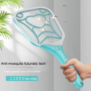 Rechargeable New Product Home Using Insect Mosquito Killer Electric Flying Swatter USB Rechargeable Mosquito Killer Racket DHB397