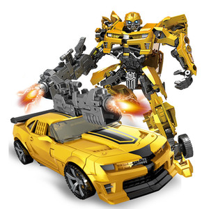 توتوي يويشينغ التحول أنيمي الفيلم سلسلة الشكل النموذجي تشوه سيارة روبوت كبير النحل حجم كبير abs البلاستيك لعبة لصبي