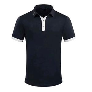 2020 Les nouveaux hommes de golf shirts extérieur sport court de golf T-shirt Hommes Polos Chemise Badminton Football Course à pied Maillots Chemises Livraison gratuite