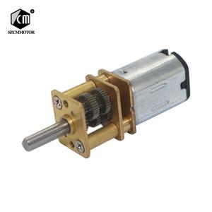 10 개 Velocidade Do Motor Engrenado 7.5 15 N20 30 rpm Micro Motores Da Engrenagem Da CC com Relação de Redução 1000 todos os Motoredutores d
