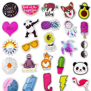 US Cartoon Style Sticker Anime Cute Animal Childrens Stickers for DIY Skateboard Bicycle Laptop Suitcase Notebook hairclippersshop KhOsI