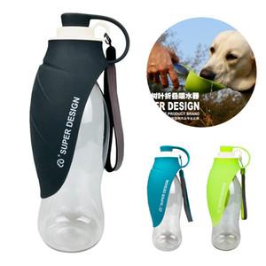 Tragbare Hundewasserflasche, Haustier-Wasserkocher im Freien Liefert Katzenzubehör Anti-Überlauf-Design-Wasserdosen Tier Täglicher Bedarf