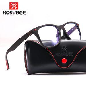 أنماط TR90 مكافحة أزرق فاتح الكمبيوتر نظارات اطارات رجالية عالية الجودة من الزجاج إطارات النساء الرجال تريند العلامة التجارية البصرية نظارات القراءة MX200527