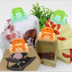 Portable New Kitchen Storage Food Snack Seal Sealing Bag Clips Sealer Clamp Plastic Tool Food Saver Travel Kitchen Tool CT0459