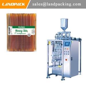 Máquina de embalaje de palo de bebida de miel líquida con múltiples carriles de control digital totalmente automático de miel