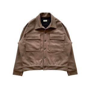 مصمم رجالي جاكيتات أزياء العلامة التجارية ARNODEFRANCE البضائع الستر شارع العليا شارع العليا عارضة أبلى براون M-XL