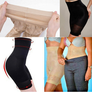 Nuevos Shapers Mujeres Full Body High Waist Black Seamless Shaper Ladies Control Panties Underbust Corset Cincher Firm Shapewear