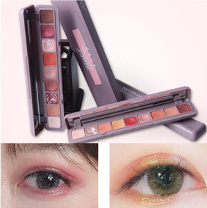 9color Keyboard fingertip eye shadow At will collision Colour Persistent no drop makeup Eye shadow Waterproof Fashion eyeshadow