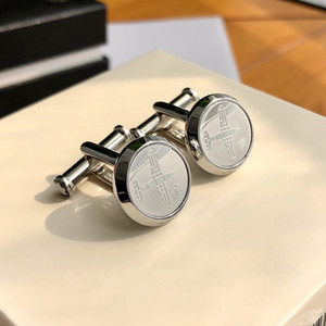 MB New Styles Luxury Special Edition Little Prince cufflinks Pure steel quality Pentagram spider web serie hollow element with Box gift set