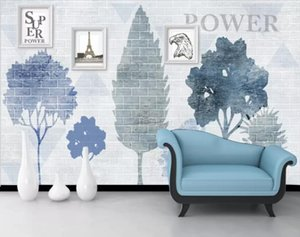 Custom Wallpaper 3D Stereoscopic Nordic background wall ink abstract t Painting Modern Abstract Art Wall Mural Living Room Bedroom Wallpaper